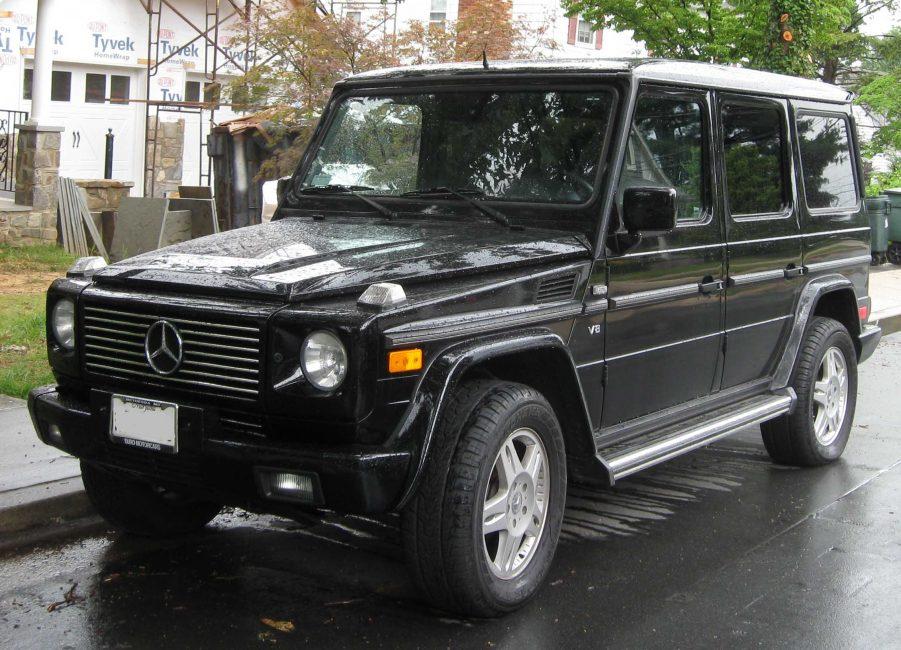 Mercedes-Benz G-class второй генерации