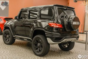 Mercedes-Benz Ares Design X-Raid