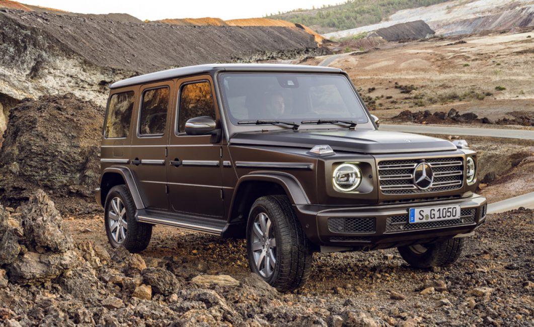 Mercedes-Benz G-Class вид спереди