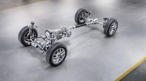 Подвеска и трансмиссия нового Mercedes-Benz G-Class
