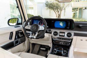 Салон нового Mercedes-Benz-AMG G 63