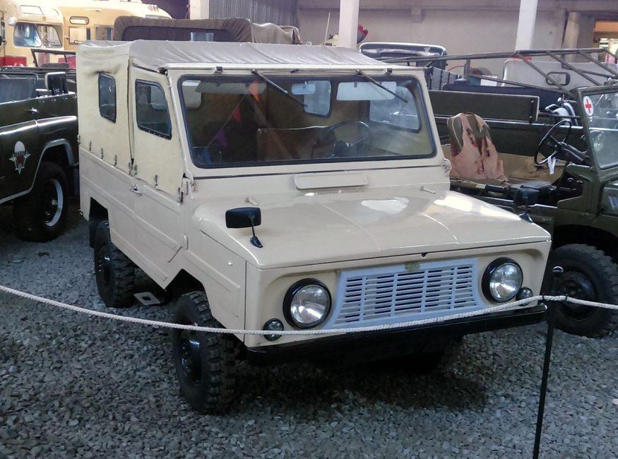 Наш аналог Suzuki Jimny ЛуАЗ-969 «Волынь»