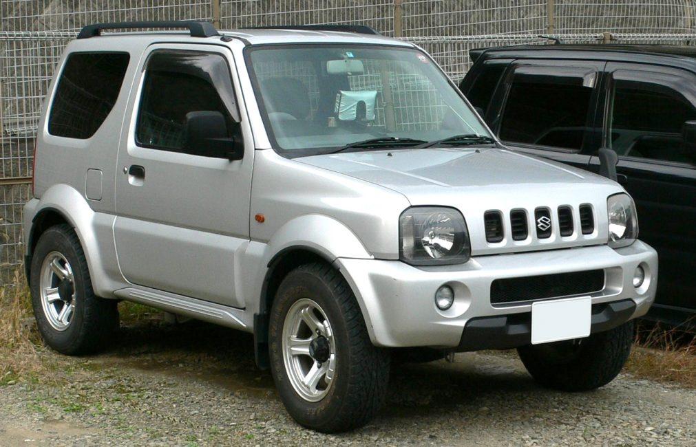 Suzuki Jimny третьей генерации