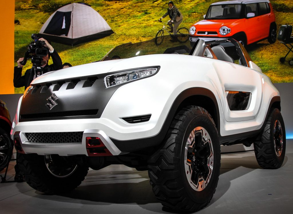 Концепт кар 2013 года Suzuki X-Lander