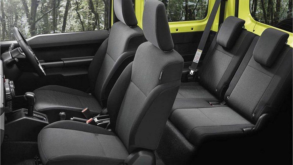 Салон нового Suzuki Jimny