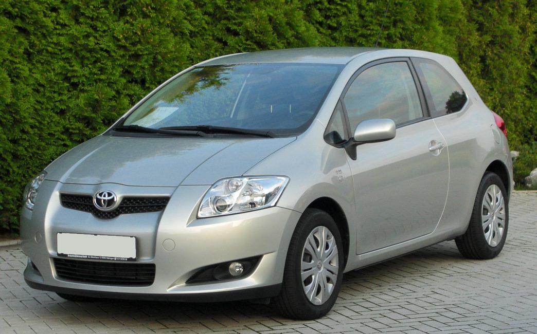 Toyota Auris первого поколения