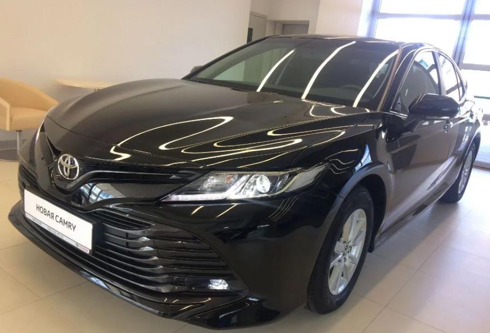 Новая Toyota Camry восьмого поколения