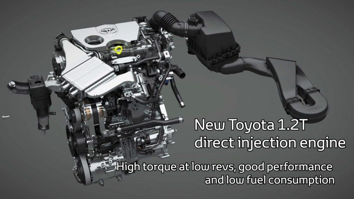 Двигатель Toyota 8NR-Fts 1.2 L Turbo