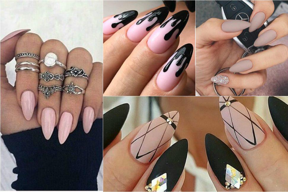Стильный дизайн ногтей 2018 года