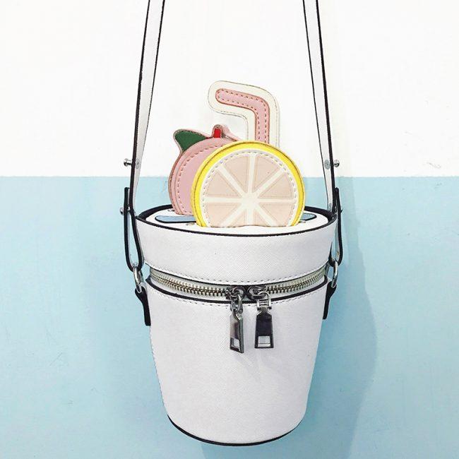Молодежный вариант сумки-ведро