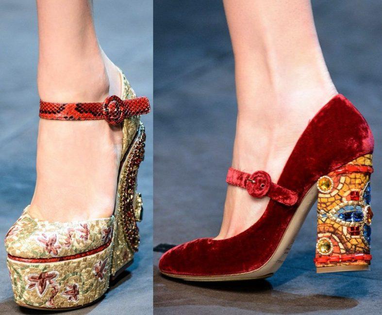 Бархатные от Dolce&Gabbana