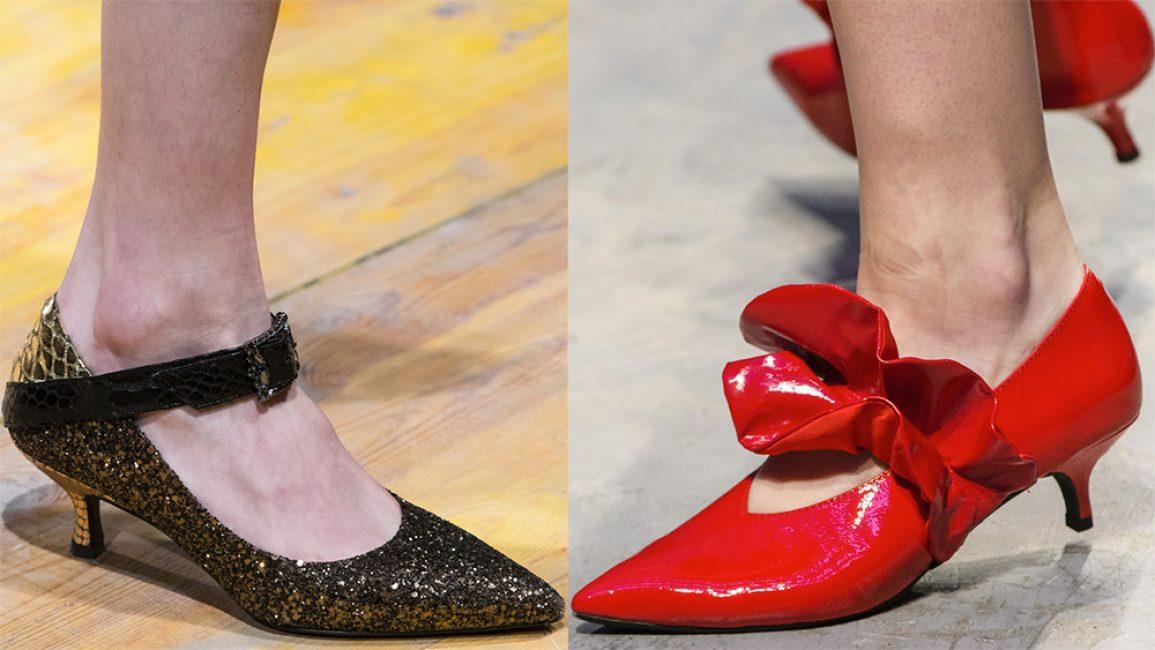 Antonio Marras и его «туфли-рюмочки» в золоте и Annakiki в красном