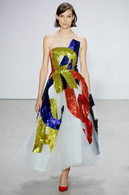 Коктейльное платье от Oscar de la Renta