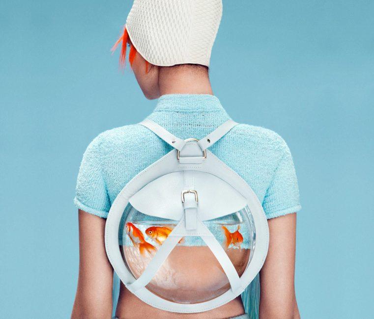 Рюкзак с дизайном «аквариум»