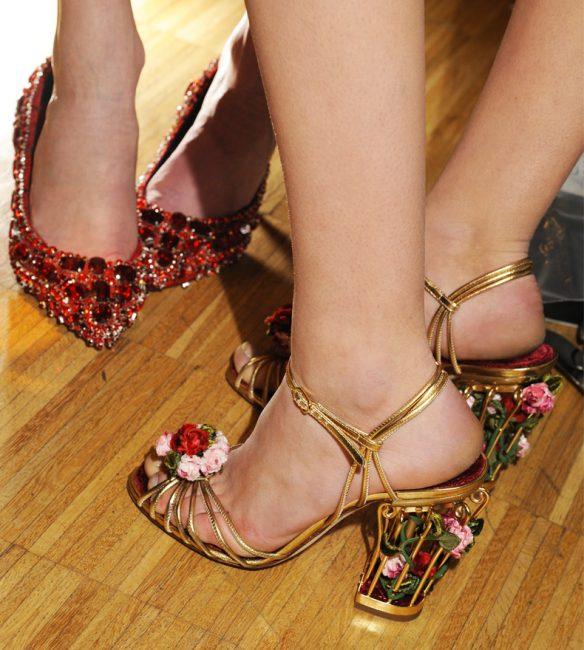 Нежные цветочки от Dolce&Gabbana