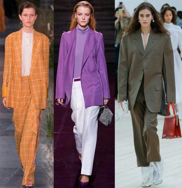 Тренд сезона — костюмы с пиджаками oversize
