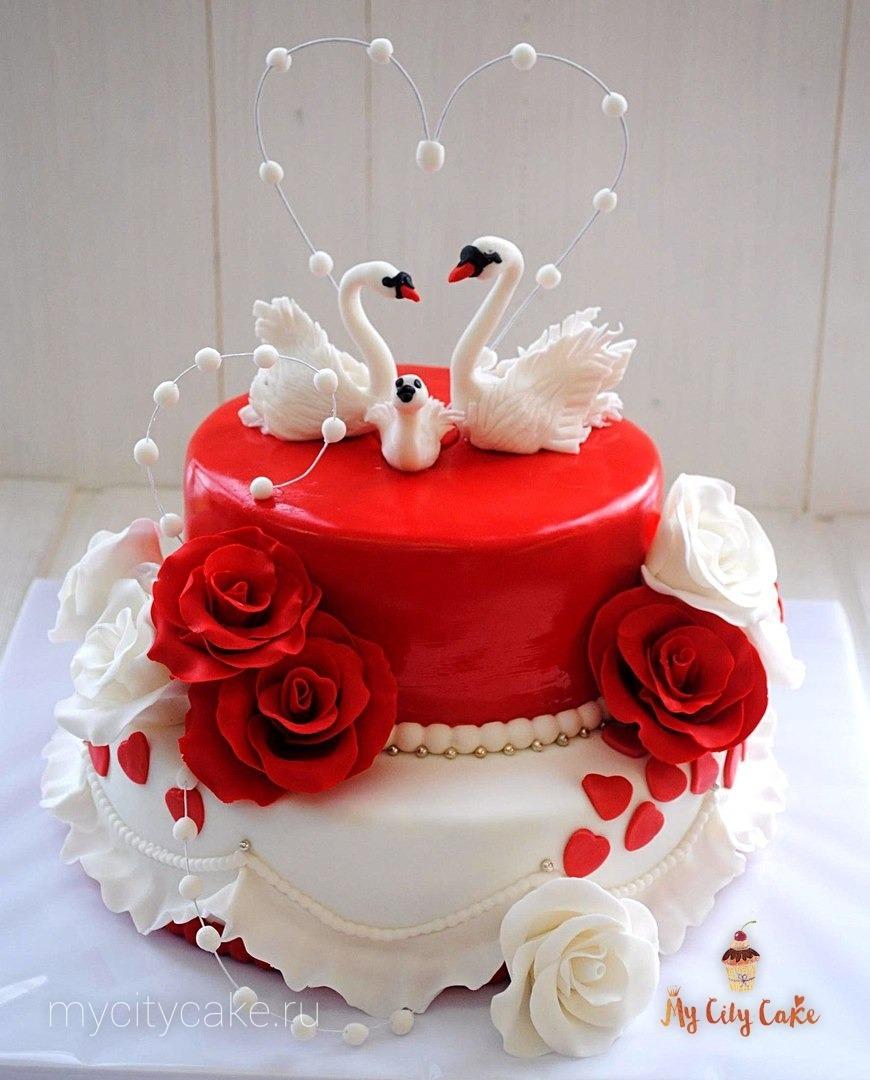 Картинки свадебные торты с лебедями, открыток своими