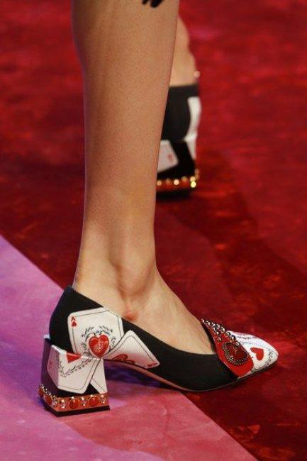 Dolce&Gabbana и его удобный каблук