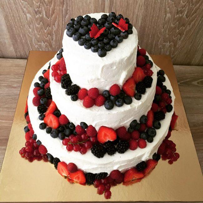 Свадебный торт для спортсменов