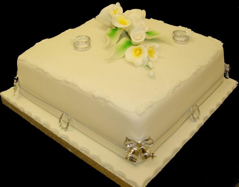 Торт прямоугольной формы