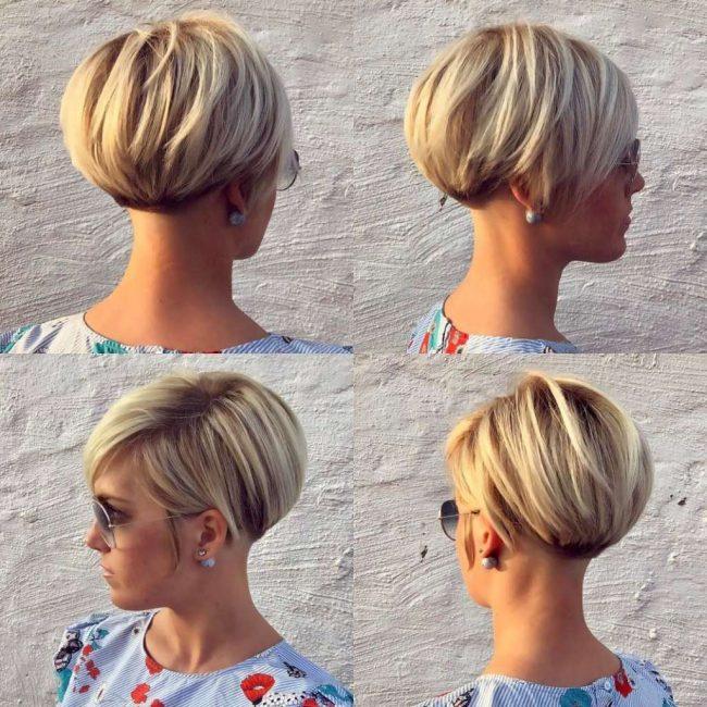 Каре на короткие волосы