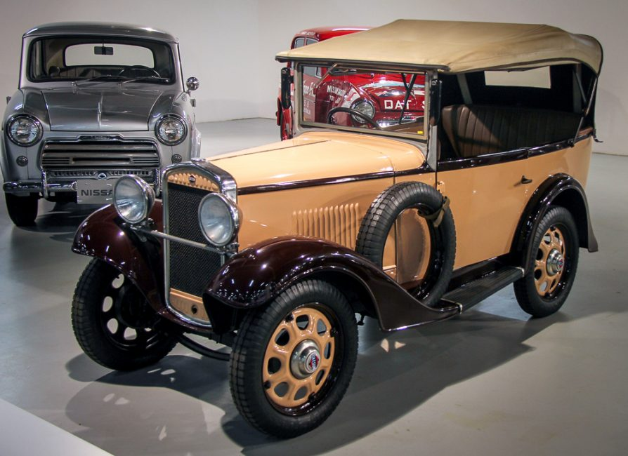 Автомобиль Datsun Type 12, который выпускался компанией в начале 30-х годов, ещё до вхождения в состав Ниссана