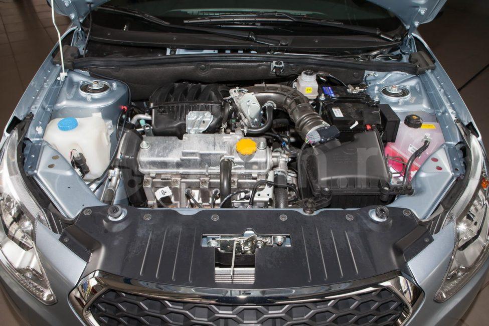Двигатель ВАЗ-11186, мощностью 87 л.с. под капотом Datsun on-DO