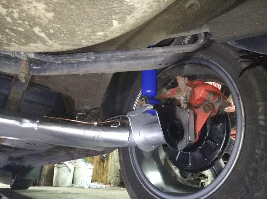 Задняя подвеска Datsun on-DO