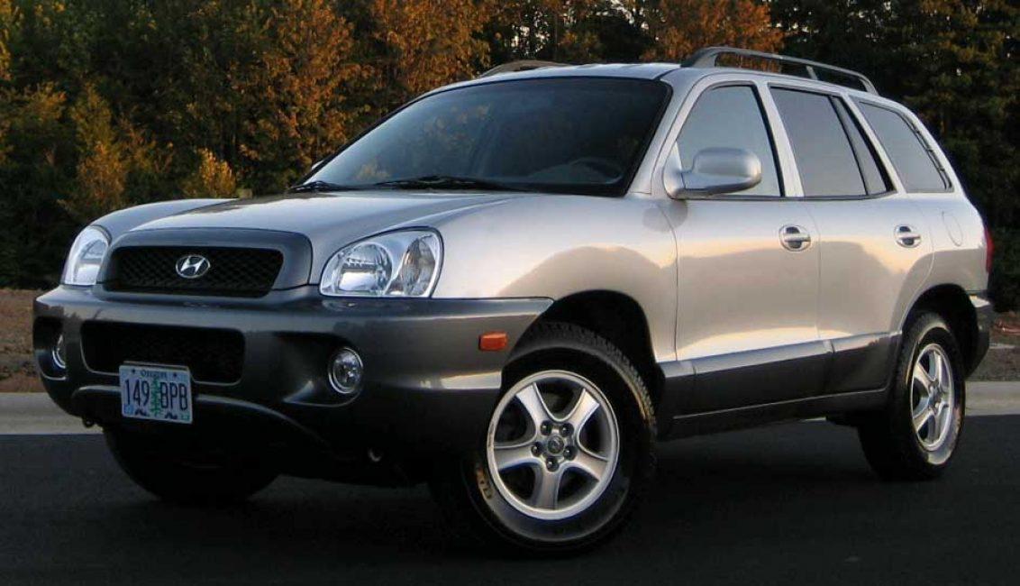 Hyundai Santa Fe первой генерации