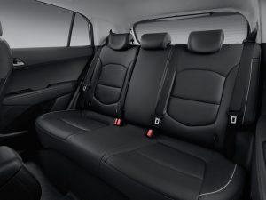 Задний диван Hyundai Creta