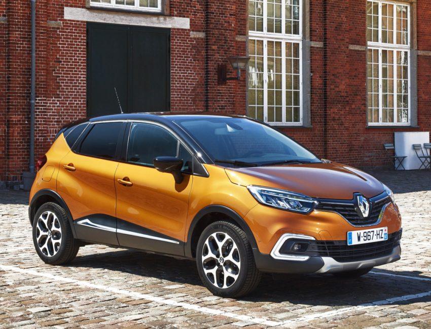 Европейский Renault Сaptur