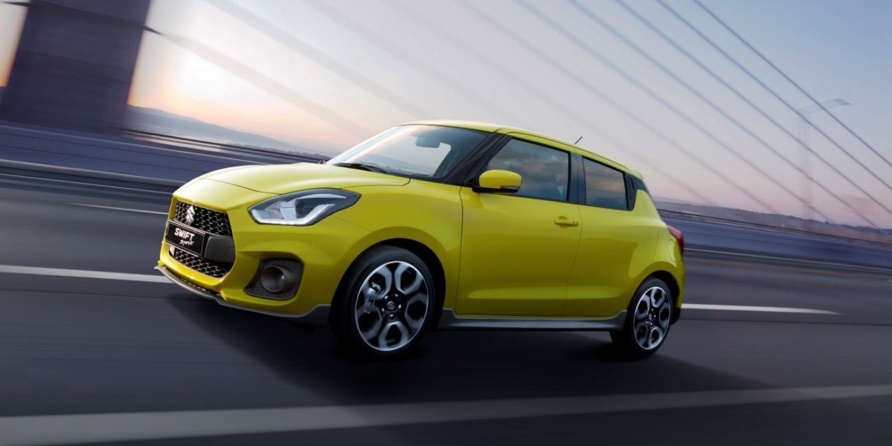 Спортивная версия Suzuki Swift Sport