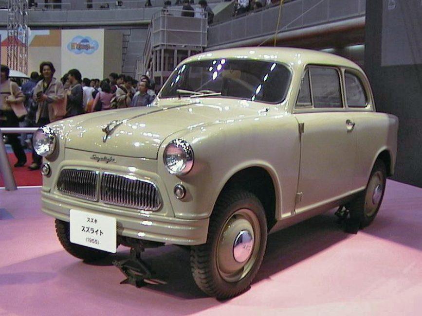 Suzuki Suzulight модель 1956 года