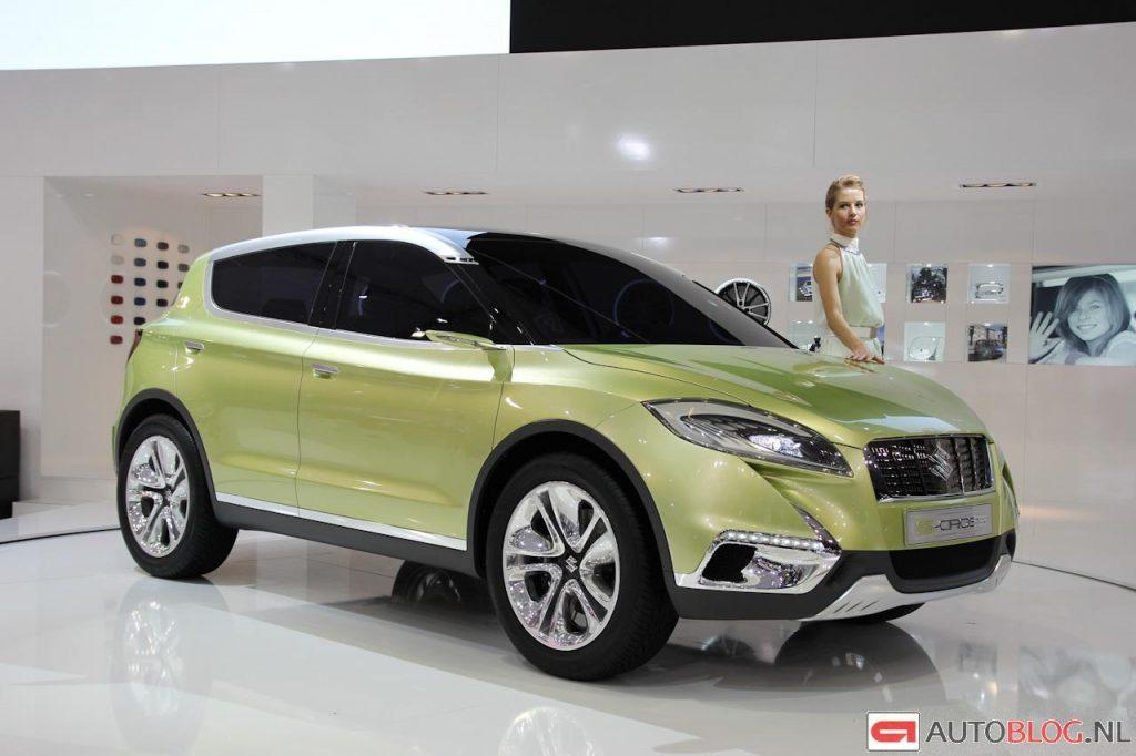 Концепт кар Suzuki unveiled S-Cross Concept