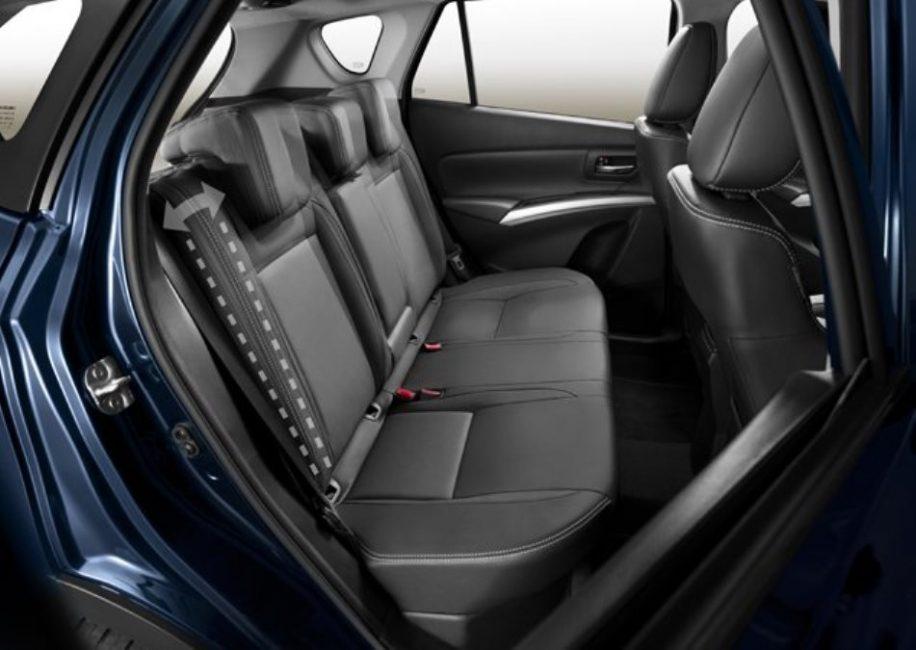 Задние сидения нового SX4