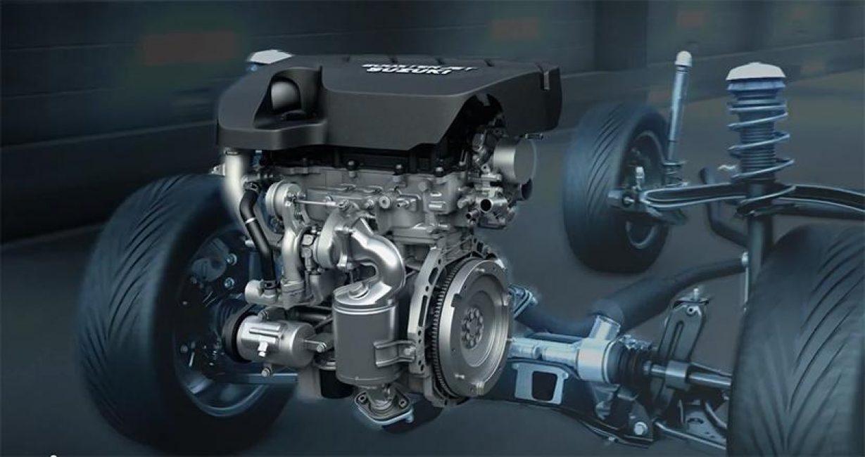 Мотор Suzuki 1,4 Boosterjet