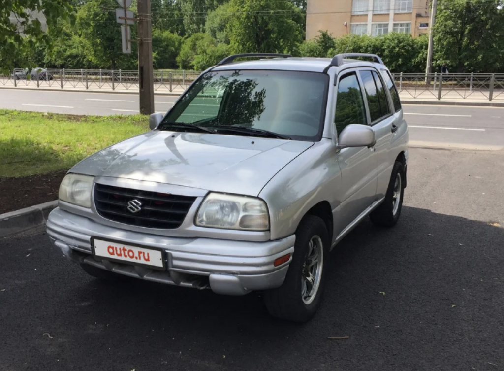 Suzuki Grand Vitara второго поколения