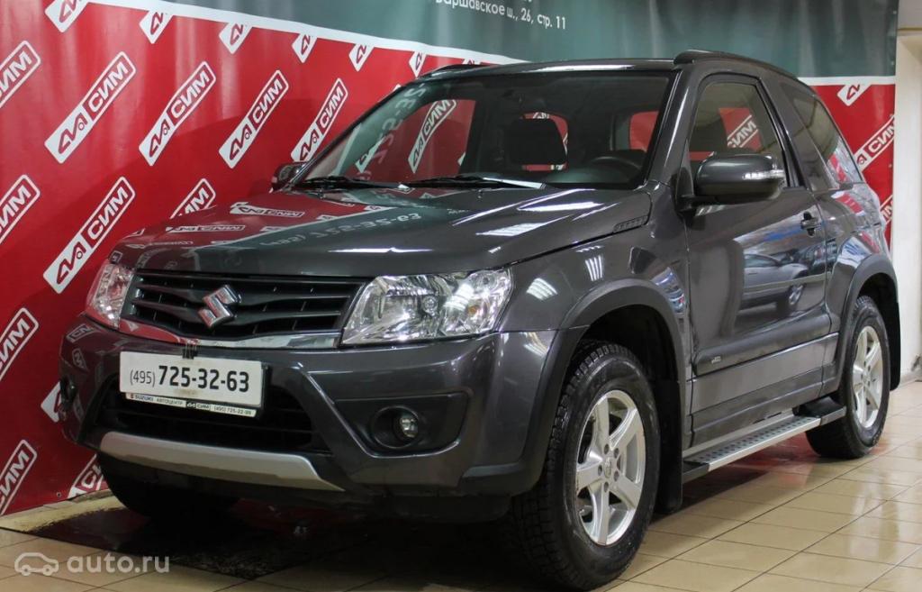 Suzuki Grand Vitara третьего поколения после рестайлинга