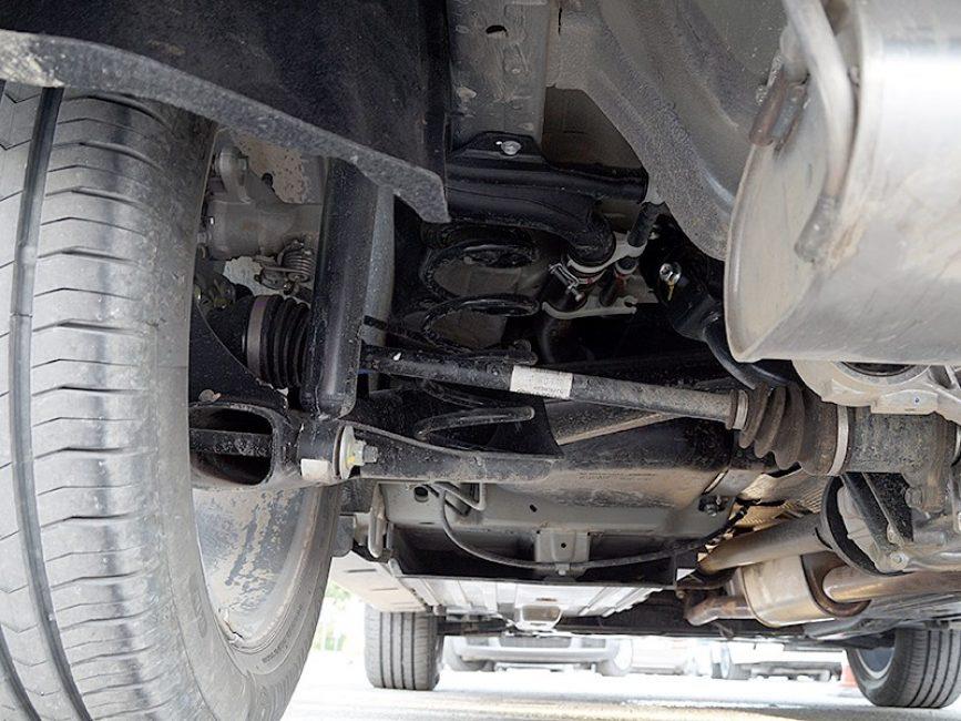 Задняя подвеска новой Suzuki Vitara