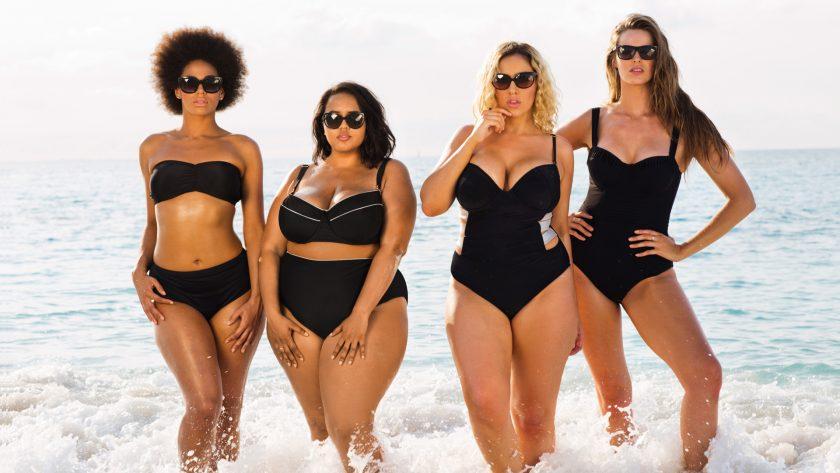 Купальники для полных женщин: стильные решения для девушек с большим бюстом в 2018 году + 170 ФОТО