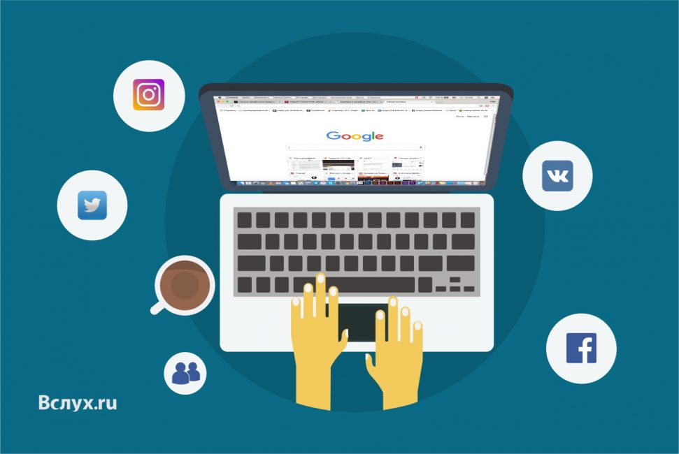 Поиск через онлайн сервисы