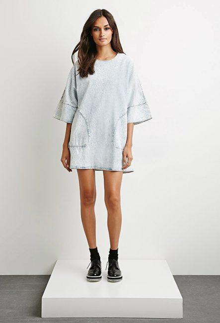 Платье-футблока