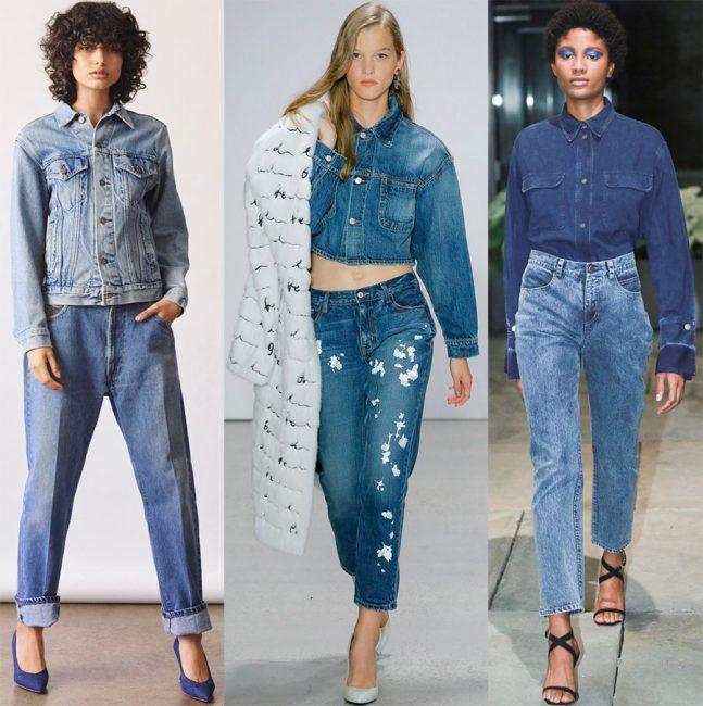 Образ с джинсами