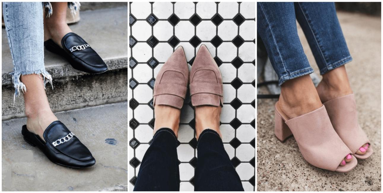 Стильная обувь лета 2018 года - мюли