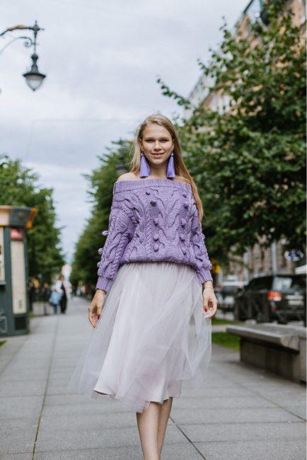 Вязаные кофты спицами для женщин фото