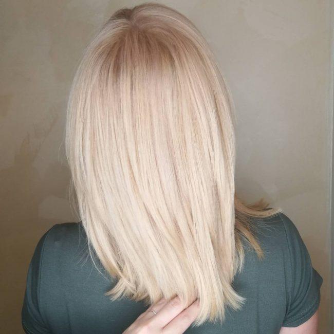 Нежный блонд