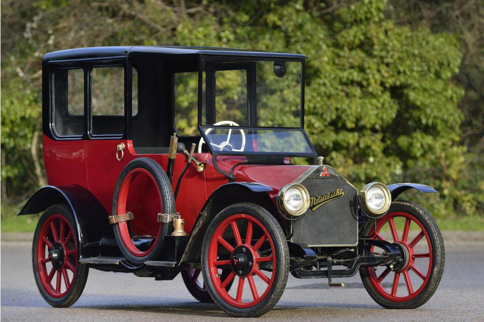 Первый автомобиль компании Mitsubishi Model A