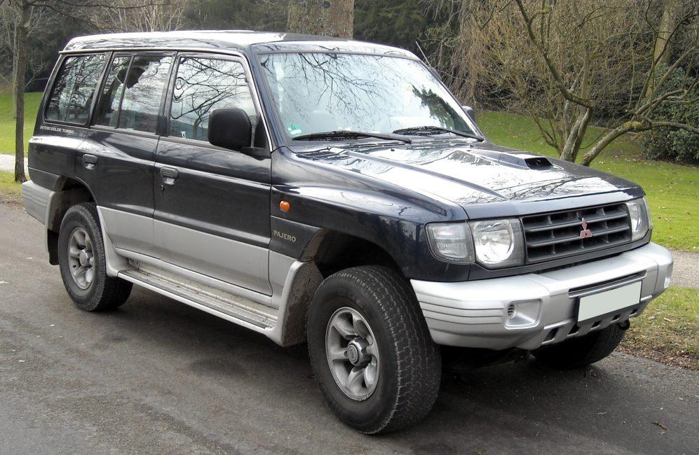 Mitsubishi Pajero II 1997 года выпуска, очень хорошо известный у нас