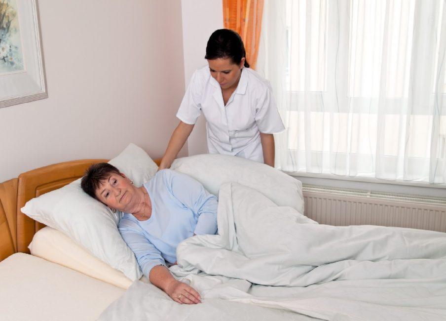 Лежачие пациенты, подверженные к патологии
