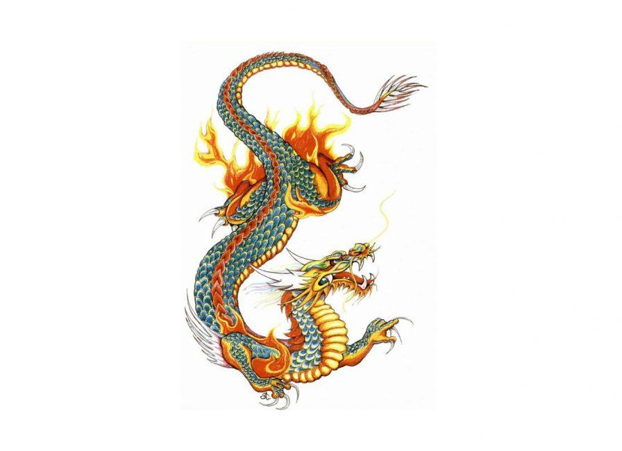 Так выглядит дракон из легенд и мифов Китая